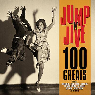 JUMP 'N' JIVE - 100 GREATS - LOUIS JORDAN LOUIS PRIMA BIG MAYBELLE - 4 CDS - NEW