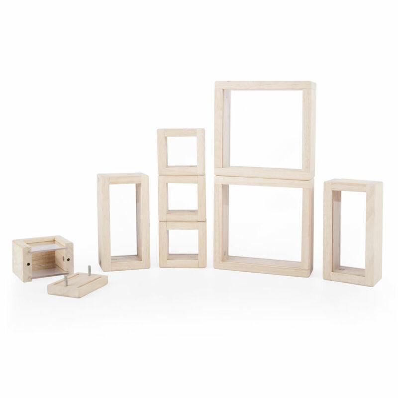 Guidecraft Clear Treasure Blocks - Set of 8