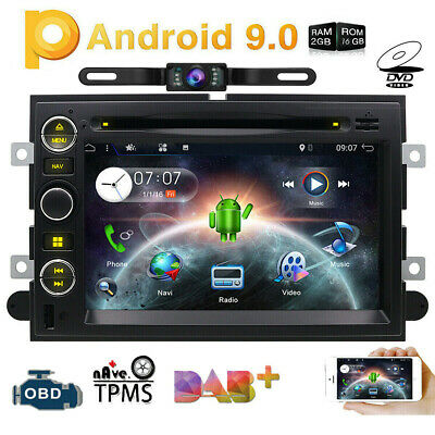 "For Ford F150 F-150 7""Android 9.0 Car Stereo Radio DVD GPS Navi Touch Screen CCD"