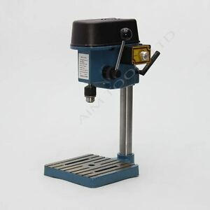PCB Art Jewleries Mini Bench Drill Press 6mm Chuck Fully Adjustable Speed