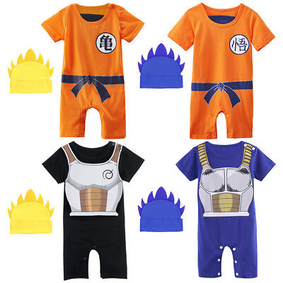 Baby Boy Dragon Ball Costume Romper Newborn Outfit Infant Playsuit Jumpsuit Set - Baby Dragon Costumes