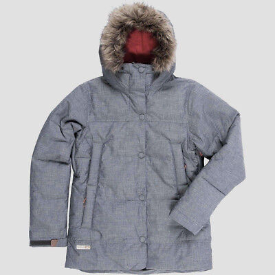 Bliss Down Jacket (HOLDEN Women's BLISS Down Jacket - Chambray -Small - NWT )