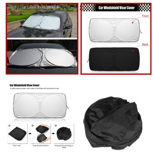 150 cm x 70cm Windshield Cover UV Visor Shade Sun Car Front Windows Protection