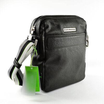 Hugo Boss Green Mens Leather Reporter / Messenger / Bag - FIDOS ...