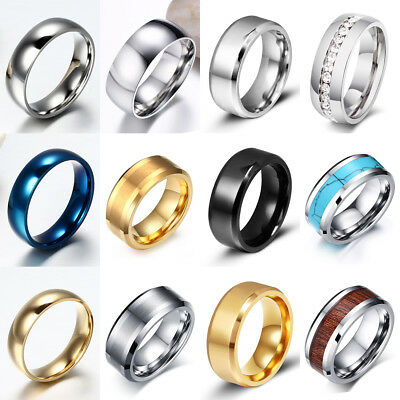 Tungsten Carbide Ring Comfort Fit Wedding Band Men Silver Gold Black Camo Celtic](Camo Ring)