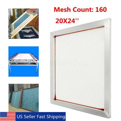 24x20 Aluminum Silk Screen Printing Press Screens Frame With 160t Mesh
