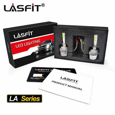 Lasfit LED Bulb for Volkswagen Beetle 1998-2005 Headlight High Beam H1 7600LM LA