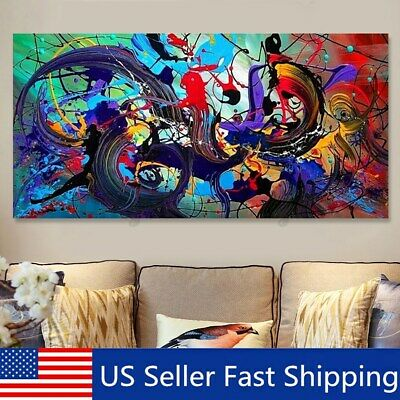 Modern Abstract Art Oil Painting Canvas Print Picture Unframed Home Wall