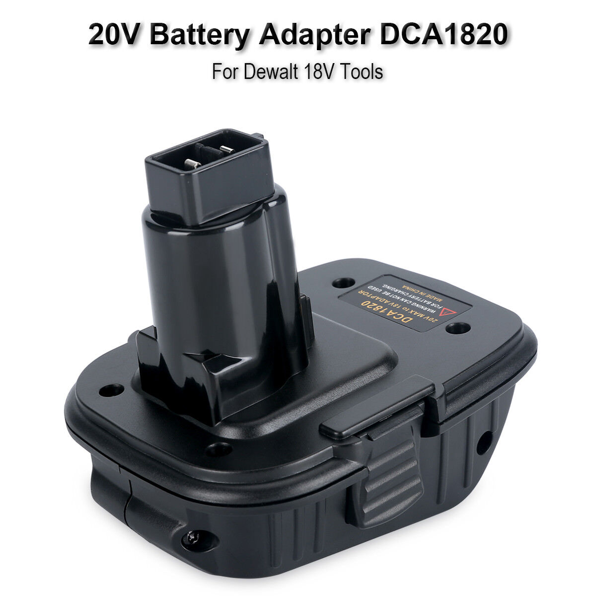 New DCA1820 Battery Adapter for Dewalt 18V Tools, to Convert