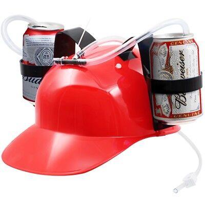 [Novelty Place] Guzzler Drinking Helmet - Can Holder Drinker Hat Cap