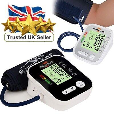 Automatic Blood Pressure Monitor Upper Arm Digital BP Machine With Large Cuff
