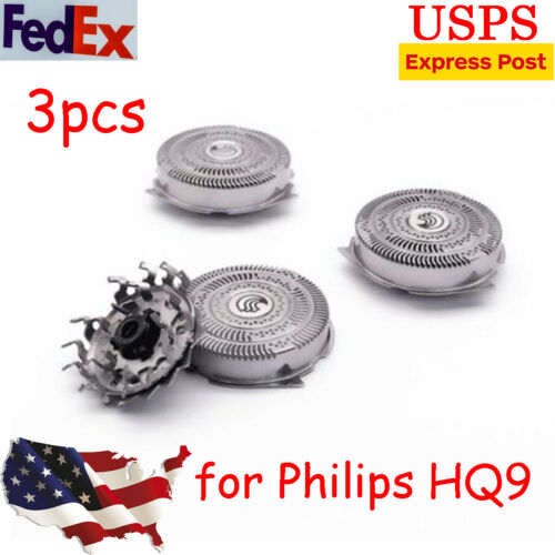3pcs Replacement Shaver Heads Razor Blades Shaving Head for