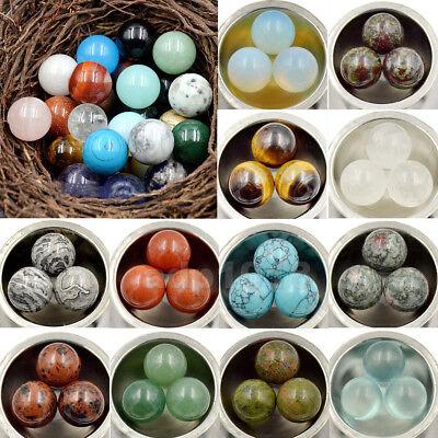 Natural Gemstone Round Ball Crystal Healing Sphere Massage meditationn ball Round Crystal Globe