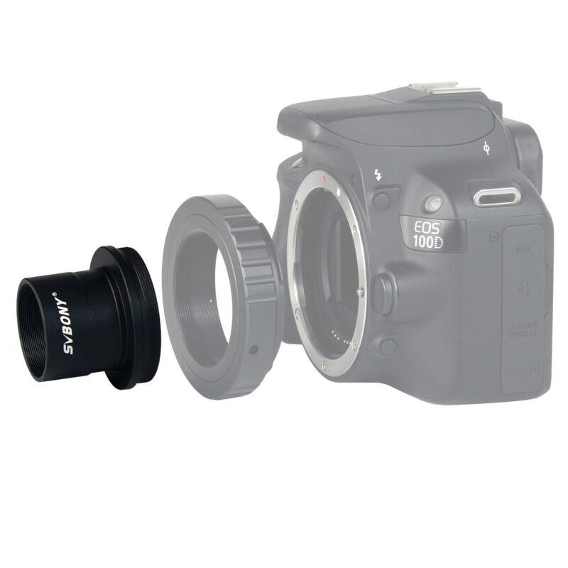 "SVBONY Telescope Camera Adapter 1.25"" T Mount For Digital SLR Camera M42x0.75"