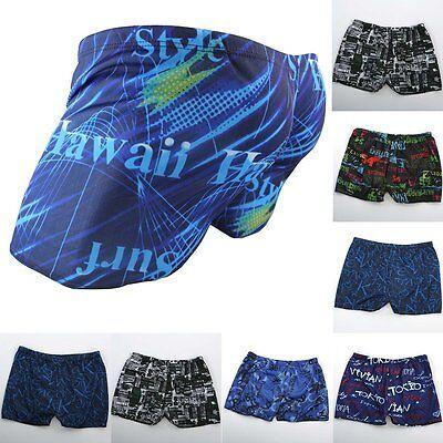 NEW Men's Summer Beach Swimming Swim Trunks Shorts Pants Swimwear Boxer Briefs