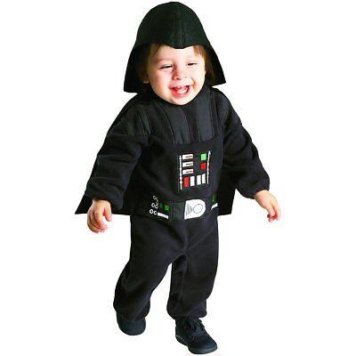 NWT RUBIE'S STAR WARS INFANT DARTH VADER HALLOWEEN COSTUME - ROMPER 2T 24 MONTHS - Star Wars Infant Halloween Costumes