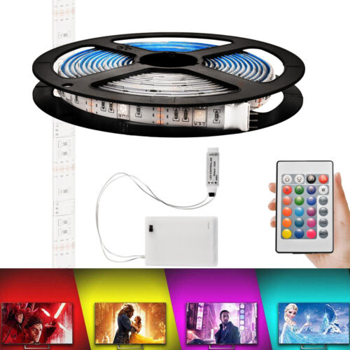 5m LED Waterproof Strip Light Battery Operated Colour Change