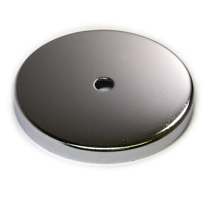 2 Pc Cup Magnets Round Base Magnet Rb85 W 120 Lb Holding Power 3.8 Dia For