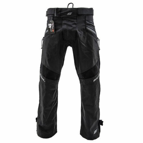 Social Paintball Grit V4 Pants - Stealth Black - Medium/Large M/L Med Large NEW