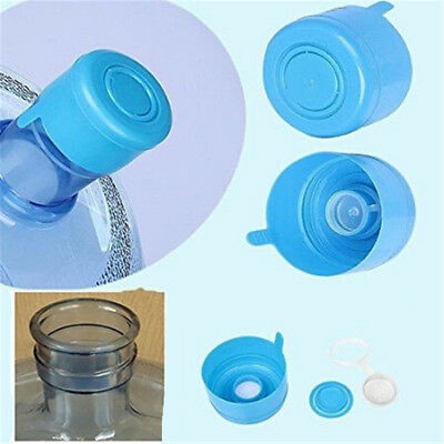 d9d1021ca6a 5Pcs Gallon Water Bottle Snap On Cap Anti Splash Peel Off Tops Replacement  50mm