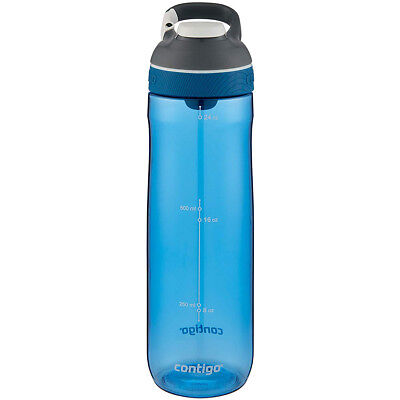0930c677eb Contigo 24 oz. Cortland Autoseal Water Bottle - Monaco/Dark Gray Lid