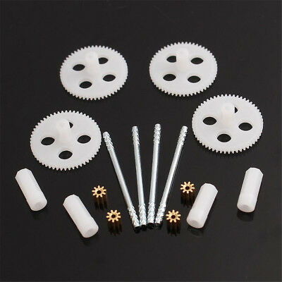 RC Quadcopter Drone Small Parts Motor Gear & Main Gears Set For Syma X5 X5C X5SC