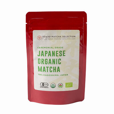 [Ceremonial grade] Japanese Organic Matcha Green Tea Powder 50g (1.76oz)