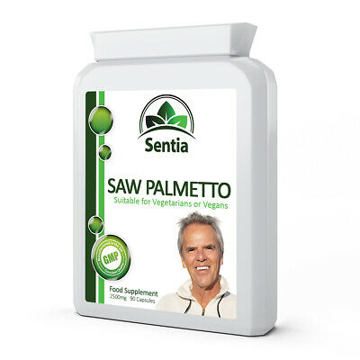 Saw Palmetto x 90 Caps. Hair Loss - Prostate - Urinary Function. Health Support.