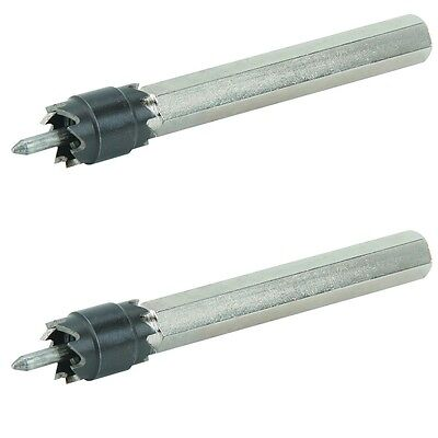 2 Pack Of 38 Double Sided Rotary Spot Weld Bits Cutter Remove Cuts Welds Drill