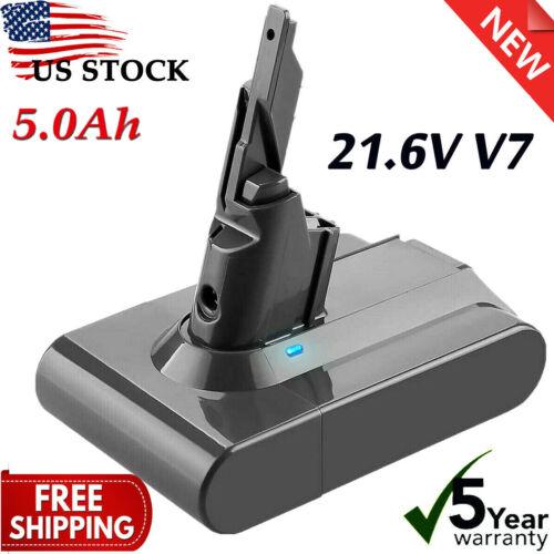 For DYSON V7 SV11 Battery 5000mAh 21.6V ANIMAL HEPA ABSOLUTE Cordless V702 US