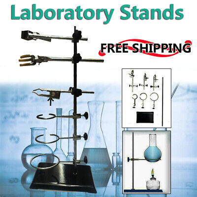Laboratory Stands Supportclamp Flask Grade Lab Metalware Set 135x210x600mm
