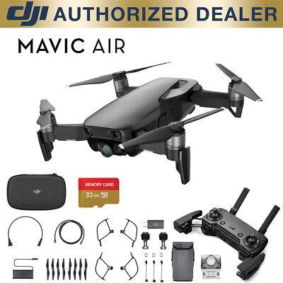 DJI Mavic Air - Onyx Negro Drone - 4K Camera, 32MP Sphere Panoramas + 32GB Liable act