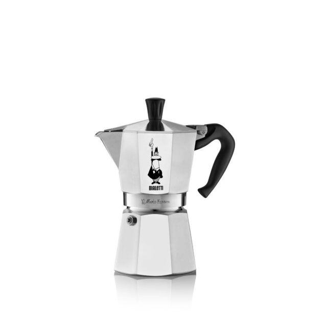 Bialetti Moka Express Italian Stove Top Espresso Coffee Maker 1 2 3 4 6 9 12 18