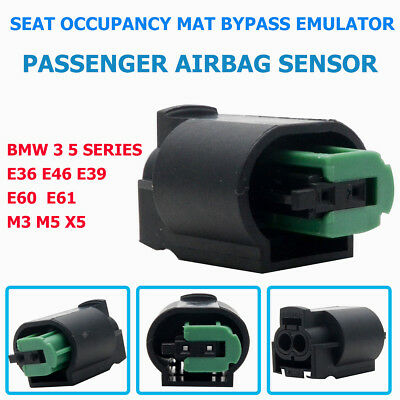 Seat Occupancy Mat Bypass Emulator For BMW E46E36E38E39Z3X5 E53 Airbag Sensor