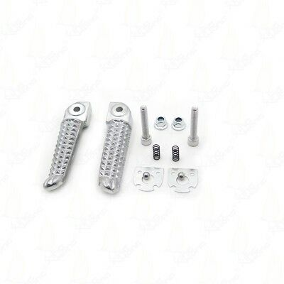 Polish Front Rear Foot Pegs Footrest Kit For Yamaha YZF R6