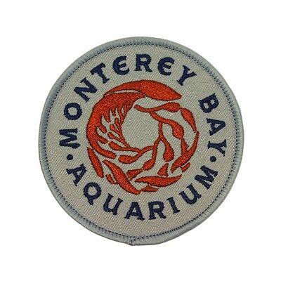 California Tourist Site  Monterey Bay Aquarium  Patch Souvenir Iron On Applique