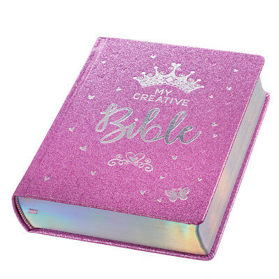 Journals For Girls (My Creative Bible for Girls, Journaling Bible - ESV - Purple Glitter)
