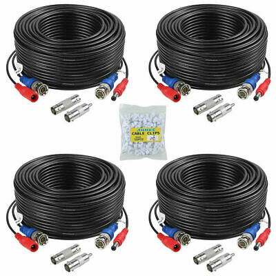 Premium Quality 4x100Ft Video&Power Cable for Night Owl HD CCTV Security Camera
