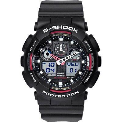 Casio G-Shock GA-100-1A4ER Armbanduhr für Herren