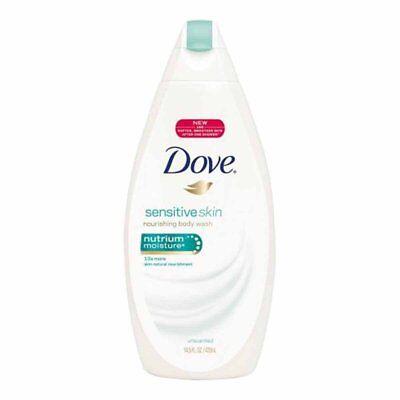 Dove Sensitive Skin Nutrium Moisture Body Wash 14.5 Fl Oz Dove Sensitive Skin Body Wash