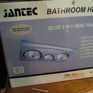 Jantec Bathroom Heater, Fan & Light in one Singleton Singleton Area Preview
