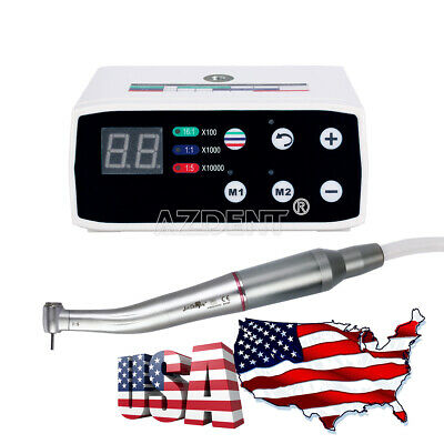 Dental Nsk Style Brushless Led Electric Micro Motor 15 Increasing Handpiece