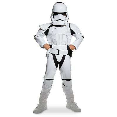NWT Disney Store Sz 11/12 or 13 Stormtrooper Costume for Kids Star Wars (Stormtrooper Costumes For Kids)