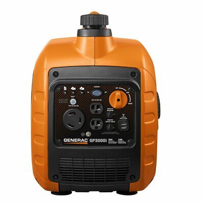 New Generac 7129 Gp3000i Super Quiet Inverter Generator 3000w Power Rush Tech