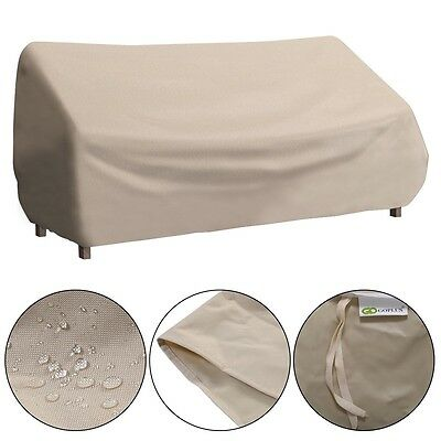 Outdoor Waterproof High Back Patio Three-seats Sofa Cover Furniture Protection