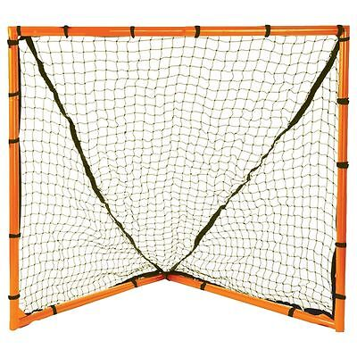 "New Champion Lacrosse 4'x4' Heavy Duty Backyard Goal 1.5"" Steel Tubing 2.5mm Net"