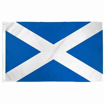 Scottish Saint Andrew Banner Flag 3×5 Polyester Indoor Outdoor Scotland Flag Décor