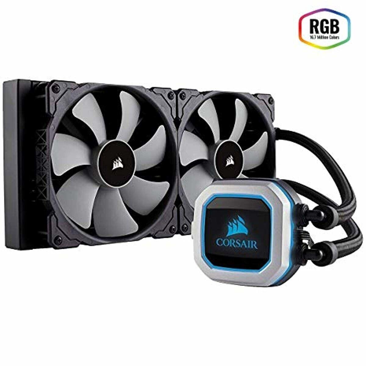 CORSAIR HYDRO Series H115i PRO RGB AIO Liquid CPU Cooler,280