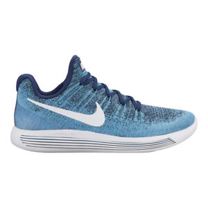 on sale 8484b 8d944 Chaussures de Running Homme Lunarepic Low Flyknit 2 Nike Bleu 42 ...