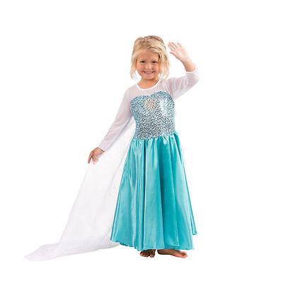 Frozen Elsa Princess Costume Dress Disney Frozen Elsa Gown (Disney Dressing Gown)